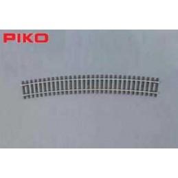 CURVA 908mm R9 (1 UNIDAD) PIKO