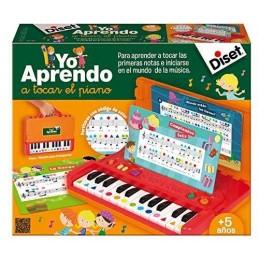 YO APRENDO A TOCAR EL PIANO...
