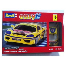 FERRARI 360 AMARILLO EASY KIT