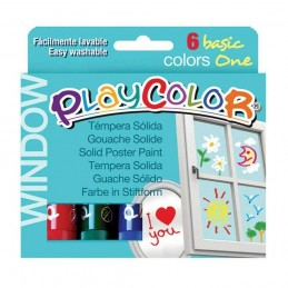 PLAYCOLOR WINDOW (6 UNIDADES)