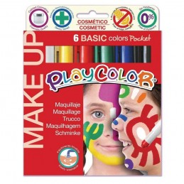 PLAYCOLOR MAKE UP (6 UNIDADES)