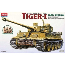 1:35 TIGER-I GERMAN TANK