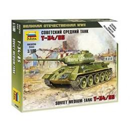 1:100 T-34/85 SOVIET TANK