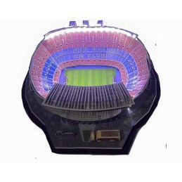 3D ESTADIO CAMP NOU CON LED