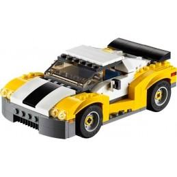 LEGO COCHE DEPORTIVO AMARILLO