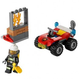LEGO TODOTERRENO DE BOMBEROS