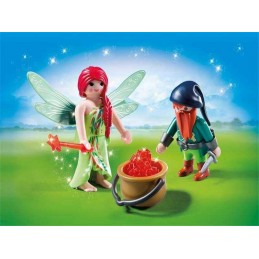 DUO PACK HADA Y ELFO PLAYMOBIL