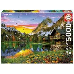 PUZZLE 5000 LAGO ALPINO