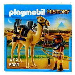 EGYPCIO CON CAMELLO PLAYMOBIL
