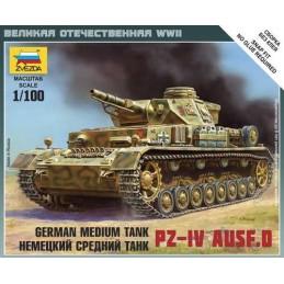 1:100 GERMAN PZ. IV AUST. D