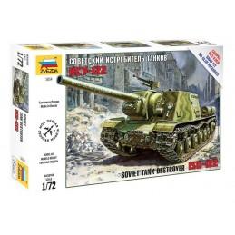 1:72 ISU-122 SOVIET SELF...