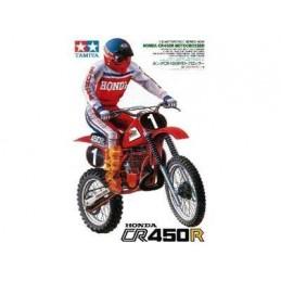 1:12 HONDA CR 450R CON PILOTO