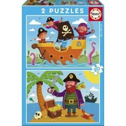 PUZZLE 2x20 PIRATAS