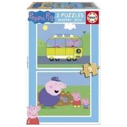PUZZLE 2X9 PEPPA PIG