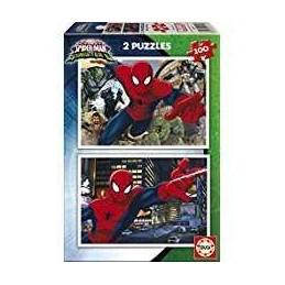 PUZZLE 2X100 SPIDER-MAN VS...