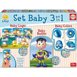 PUZZLE SET BABY EDUCATIVOS...