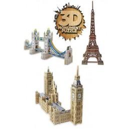 3D MONUMENTOS DE MADERA...