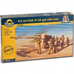 1:72 8.8CM FLAK 37 AA GUN...