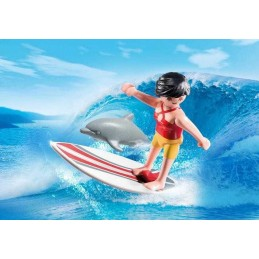 SURFISTA CON TABLA SURF...