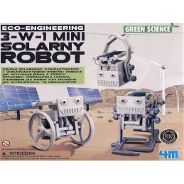 3 EN 1 MINI SOLAR ROBOT 4M