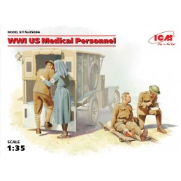1:35 WWI US MEDICAL PERSONNEL