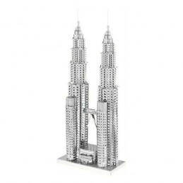PETRONAS TOWERS - METAL MODEL
