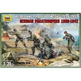 1:35 GERMAN PARATROOPS WWII