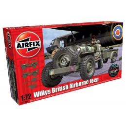 1:72 WILLYS JEEP, TRAILER &...