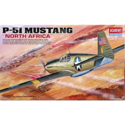 1:72 P-51 MUSTANG NORTH AFRICA