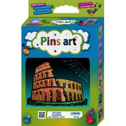 PINS ART COLISEO COLISEUM