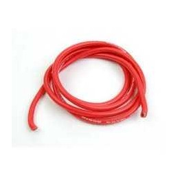 CABLE SILICONA 2.4MM ROJO 1 M