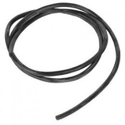 1M CABLE SILICONA 2.5MM NEGRO