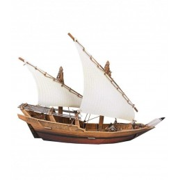 3D DHOW ARABE - CLEVER PAPER