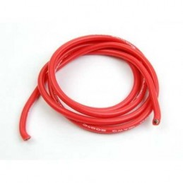 CABLE SILICONA 3MM ROJO METRO