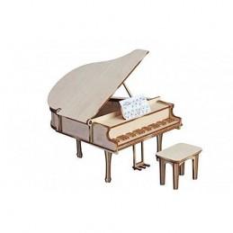 PIANO DE COLA CON TABURETE...