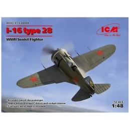 1:48 I-16 TYPE 28. WWII...