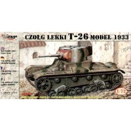 1:72 T-26 LIGHT TANK 1933