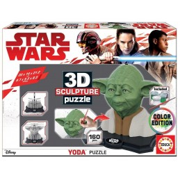 3D PUZZLE SCULPTURE YODA...