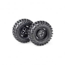 RUEDAS CRAWLER 96MM 1/10  2UDS