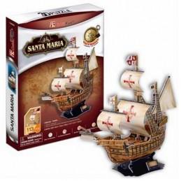 BARCO SANTA MARIA 3D PUZZLE