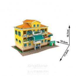 FOLK HOUSE 3D PUZZLE