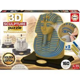 3D PUZZLE 160 TUTANKHAMON...