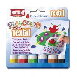 PLAYCOLOR TEXTIL (6 UNIDADES)