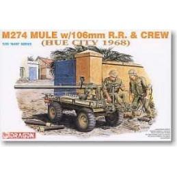 1:35 MULE W/106 MM R.R. & CREW