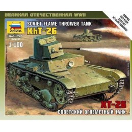 1:100 T-26 FLAMTHROWER TANK
