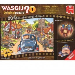 1000 WASGIJ SUNDAY DRIVERS...