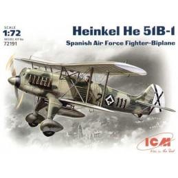 1:72 HEINKEL HE 51B-1,...
