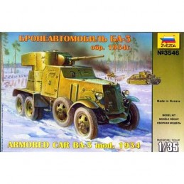 1:35 BA-3 MOD 1934 SOVIET...