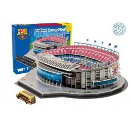 3D ESTADIO CAMP NOU