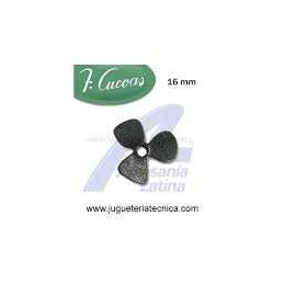 HELICES DE 2 ASPAS 16MM